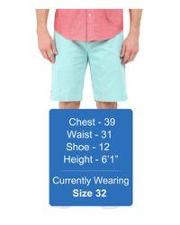 "Lacoste - Blue Classic Fit Bermuda Short 10"" for Men - Lyst"
