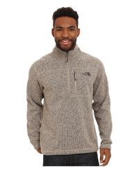 The North Face | Natural Gordon Lyons 1/4 Zip Pullover for Men | Lyst