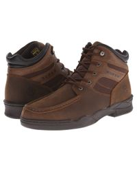 Roper - Brown Moc Toe Horseshoe for Men - Lyst