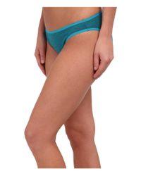 Smartwool - Blue Nts Micro 150 Pattern Bikini - Lyst
