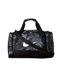 Nike - Black Brasilia 6 Duffel Graphic Small for Men - Lyst