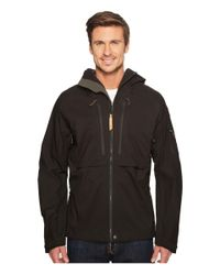 Fjallraven | Black Keb Eco-shell Jacket for Men | Lyst