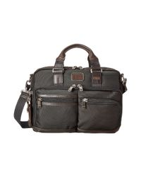 Tumi | Brown Alpha Bravo - Andersen Slim Commuter Brief | Lyst