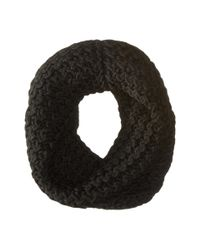 Hat Attack | Black Chevron Knit Long Loop | Lyst