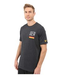 Under Armour - Multicolor Germany Country Pride Tri-blend Short Sleeve Tee for Men - Lyst