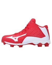 Mizuno | Red 9-spike® Advanced Franchise 8 Mid for Men | Lyst