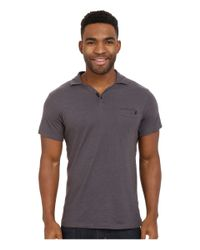 Black Diamond - Gray Cottonwood Polo for Men - Lyst