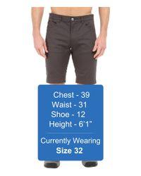 Black Diamond - Gray Stretch Font Shorts for Men - Lyst