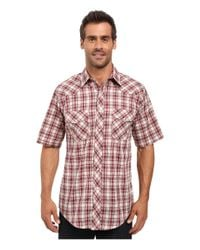 2a1ad35329bf Lyst - Roper 0298 Cream   Red Plaid W  Gold Lurex in White for Men