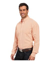 Roper - Pink One Open Pocket 0283 Mini Checks for Men - Lyst