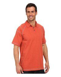 ECŌTHS - Orange Liam Polo for Men - Lyst