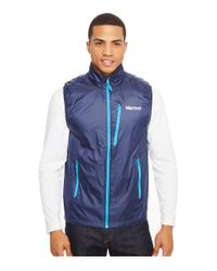 Marmot | Blue Ether Driclime® Vest for Men | Lyst
