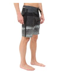 "Hurley - Black Phantom Tigris 19"" Boardshorts for Men - Lyst"