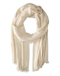 Pendleton | White Luxe Weave Wool Scarf for Men | Lyst