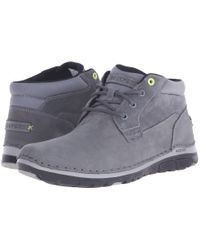 Rockport - Gray Zonecrush Rocsport Lite Plain Toe Boot for Men - Lyst