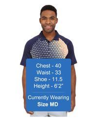 PUMA - Blue Gt Dimension Polo for Men - Lyst