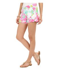 Lilly Pulitzer - Multicolor Buttercup Shorts - Lyst