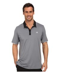 Adidas Originals - Gray Climacool® Branded Performance Polo for Men - Lyst