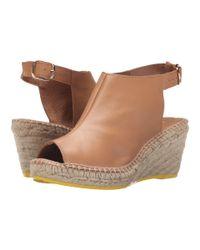Lolë - Natural High Heel Sandals Middle - Lyst