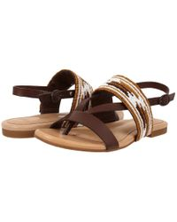 UGG - Brown Verona Serape Beads - Lyst