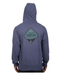 The North Face - Blue National Parks Pullover Hoodie for Men - Lyst