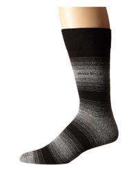 BOSS - Gray Linen Stripe for Men - Lyst