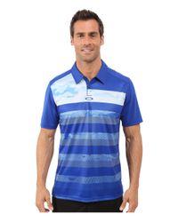 Oakley - Blue Lowers Polo for Men - Lyst