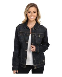 Carhartt | Blue Brewster Denim Jacket | Lyst