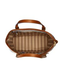 Brahmin - Brown Medium Asher - Lyst