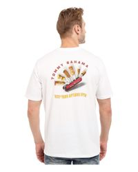 Tommy Bahama | White Keep Your Options Open Tee for Men | Lyst