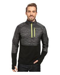 Smartwool   Gray Propulsion 60 Hybrid Half Zip Jacket for Men   Lyst