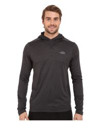 The North Face | Gray Reactor Hoodie for Men | Lyst