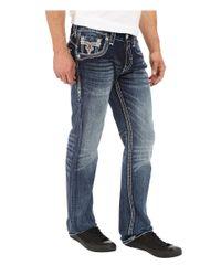 Rock Revival - Blue Feeney J204 Straight Leg for Men - Lyst
