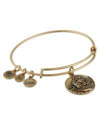 ALEX AND ANI | Metallic Laughing Buddha Bracelet | Lyst
