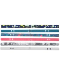 Under Armour - White Graphic Headband 6-pack (youth) - Lyst