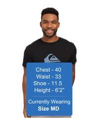 Quiksilver - Black Mountain Wave Tee Shirt for Men - Lyst