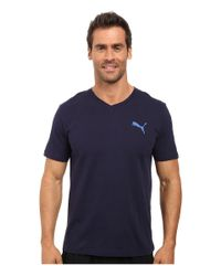 PUMA   Multicolor Iconic V-neck Tee for Men   Lyst
