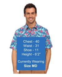 Vineyard Vines - Multicolor Birds Of Paradise Short Sleeve Murray Shirt for Men - Lyst