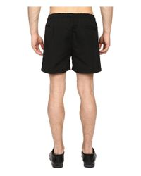 The Kooples | Black Sport Honey Comb Fleece Shorts for Men | Lyst