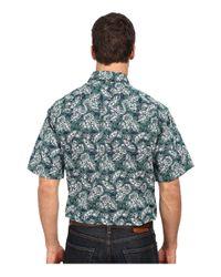 Cinch - Blue Short Sleeve Print for Men - Lyst