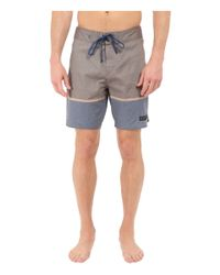 United By Blue - Blue Clear Creek Scallop Boardshorts for Men - Lyst