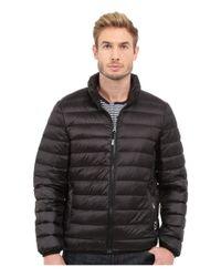 Tumi | Black Patrol Packable Travel Puffer Jacket for Men | Lyst