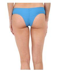 Volcom - Blue Simply Solid Cheeky Bottom - Lyst