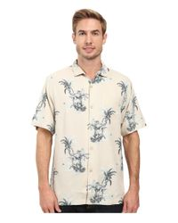 Tommy Bahama | Natural Where The Palm Frond Grows Shirt for Men | Lyst