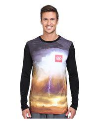 686 | Blue Tech Long Sleeve Shirt for Men | Lyst