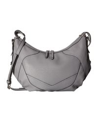 French Connection - Gray Fatima Hobo - Lyst