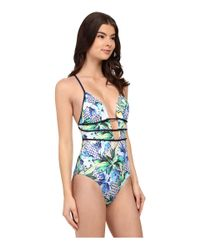 Jets by Jessika Allen - Multicolor Sublime Plunge One-piece Swimsuit - Lyst