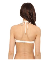 kate spade new york - Natural Spring 17 Halter Underwire Top - Lyst