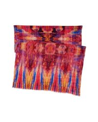 Bindya - Red Vintage Ikat - Lyst