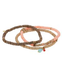 Chan Luu | Multicolor 3-pack Sequin Stretch Bracelet | Lyst
